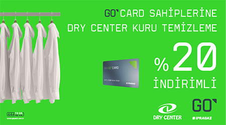 GO Card Dry Center Kampanyası